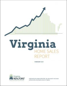 February 2017 Home Sales Report Cover