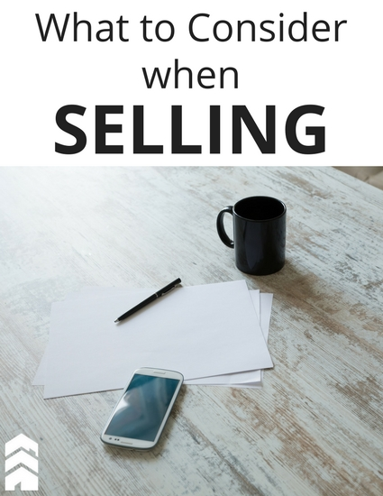 Selling Considerations Handout