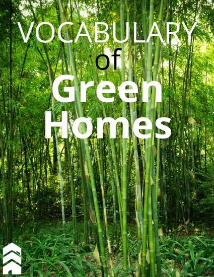 Vocabulary of Green Homes