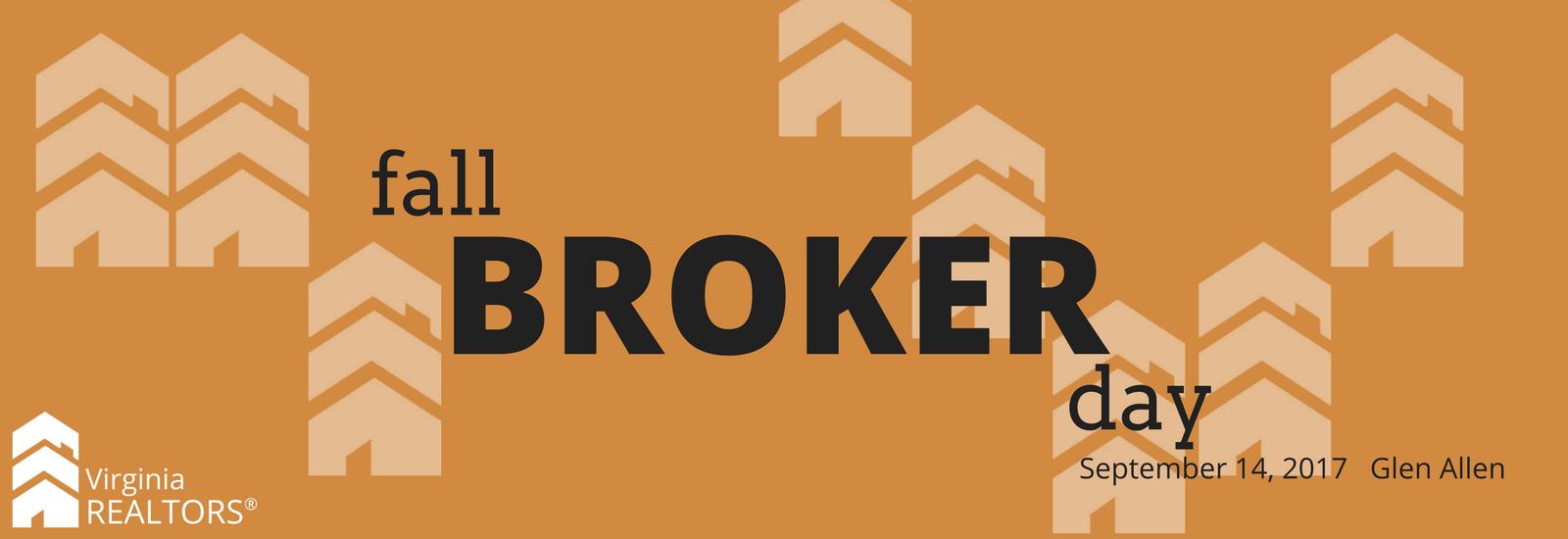 Fall Broker Day, September 14, 2017