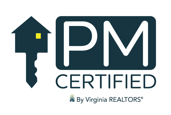 PM Certified by Virginia REALTORS®