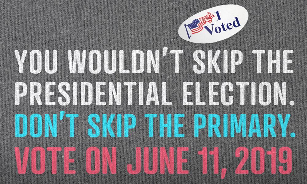 Vote June 11, 2019