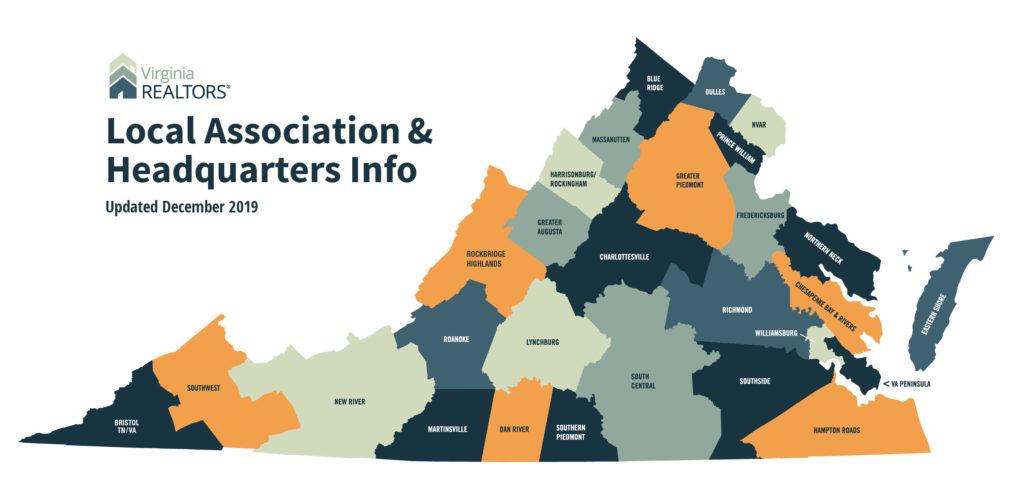 Virginia Local Associations Map