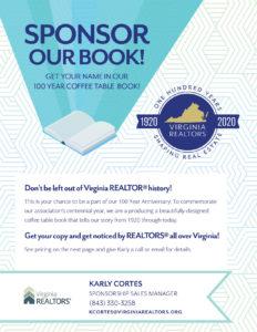 100 Year Book Sponsor