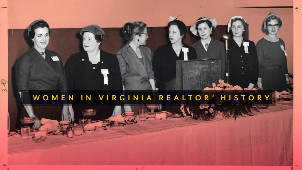 Women in Virginia REALTORS® History