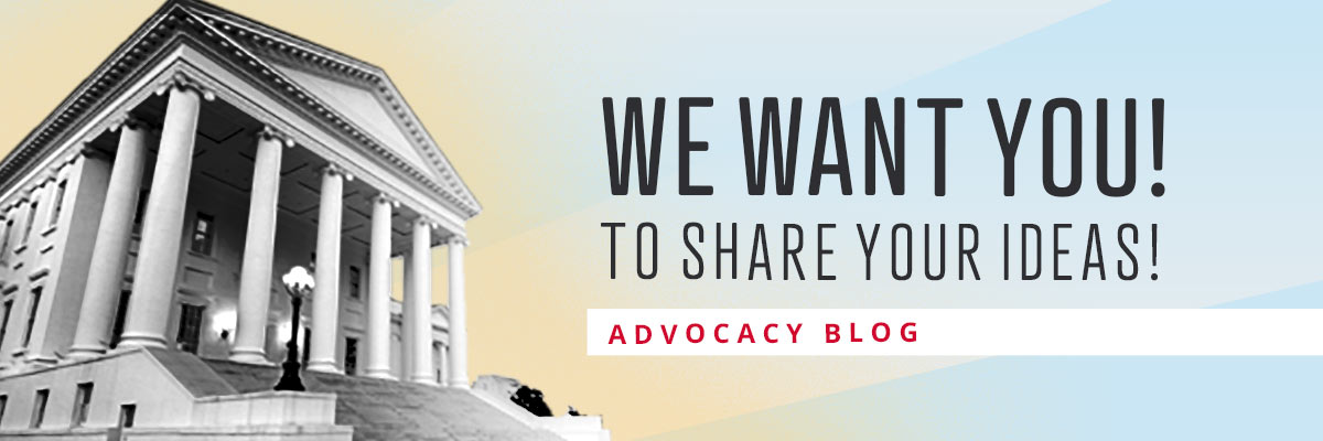 Share your ideas you'd like to see made into law.
