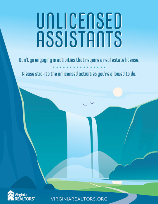 Unlicensed Assistants poster