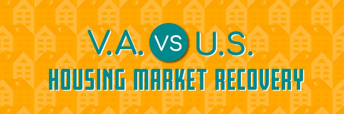 VA vs. US housing market recovery