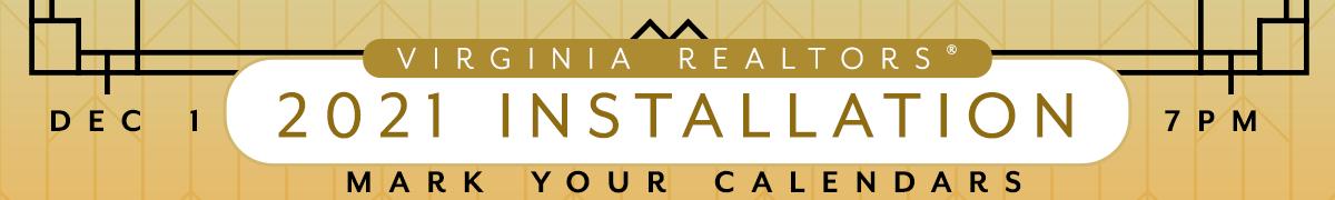 Virginia REALTORS® 2021 Installation