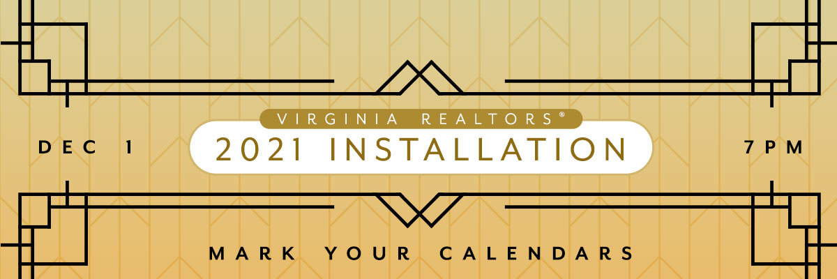 Virginia REALTORS® 2021 Installation