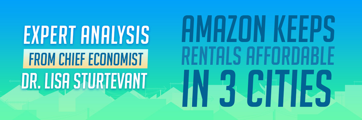 Expert Analysis: Amazon Keeps Rentals Affordable in 3 Cities