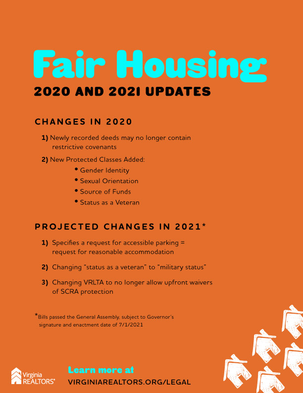 Fair Housing Updates 2020-2021