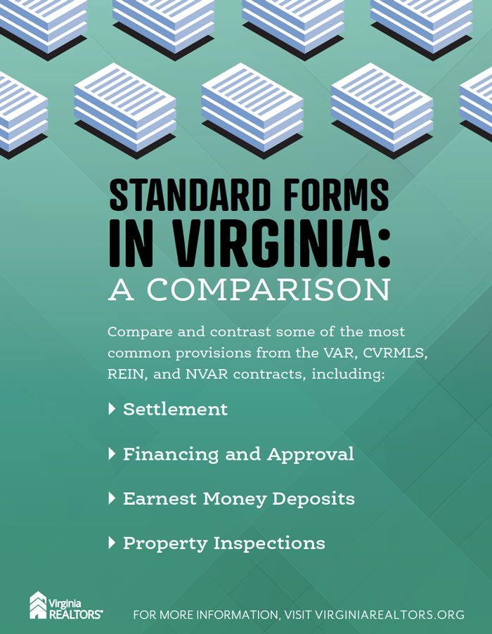 Standard Forms Comparison July 2021